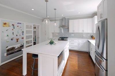 Zurbuch Construction - Modern Kitchen Angled Left Tinified