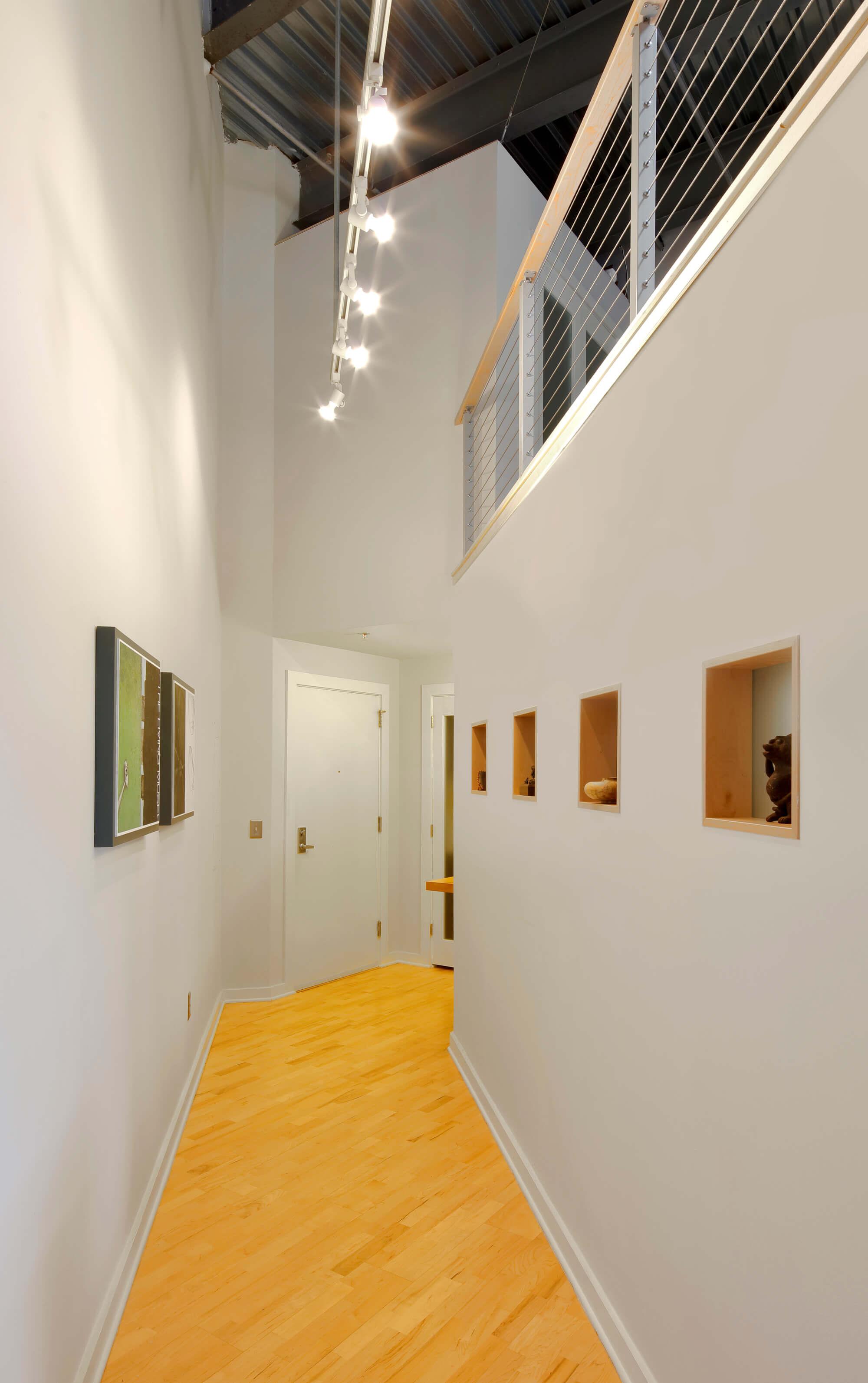 Zurbuch Construction - Neville Loft Foyer